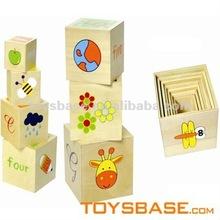 Development of intelligence wood blocks