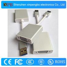 Premium Aluminium Shell Case USB 3.0 to VGA Display Adapter Cable