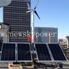 low noisy mini wind power generator wind mills household horizontal wind solar hybrid system