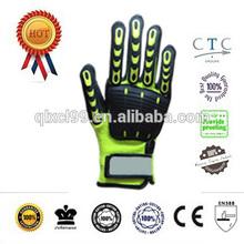 Hand Safety Mechanic Gloves Nylon/Spandex w/TPR Pads,work gloves
