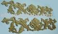 Estilo clássico de madeira entalhadas à mão mobiliário ornamento( efs- m- 9053)