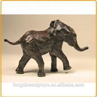 Outdoor Baby Garden Elephant Sculptures for Sale