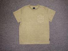 Mens 100% cotton acid washed & short sleeve T-shirt
