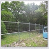 green metal fence/ metal construction fence/ cheap yard fencing