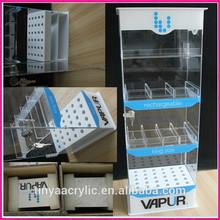 Fashion Design Clear Lockable Acrylic Display Case for E-Cigarette