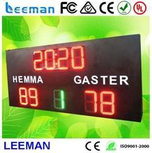 4 digits 7 segment clock led digital display cast aluminum - die casting antenna parts [gn-dct led cricket scoreboard