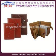 leather diary notebook organizer portfolio
