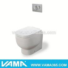 VAMA ceramic p-trap dual flush colored toilets for sale