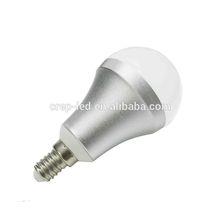 E12 /E14/E17 5W 480lm clear cover led bulb can replace PHILIPS 15W CFL bulb
