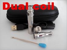 custom logo design wax smoking pen ego skillet vaporizer dual wick pen