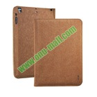 Side Flip Smart Wake Sleep Leather Belt Clip Case for iPad Air