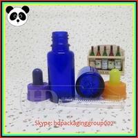 Hot! 15ml cobalt blue glass dropper bottles glass jars borosilicate glass dropper