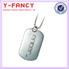 custom handbag metal tags cheap blank dog tags custom engraved metal jewelry tags