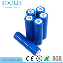 li ion battery cell 18650 2000mAh 2200mAh capacity with best price for lighting and street lights.