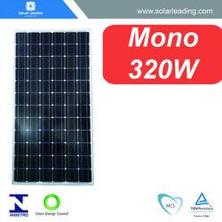 TUV approved 320w high watt solar panels