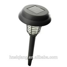Non-pollution solar mosquito killer lamp/solar mosquito killing light/solar zapper light with 600MAH NI-MH battery