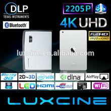 dlp uv projector/ professional projector full hd/ led fiber optic projector