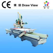 CE SGS authorised Draw View brand natural stone cutting machines