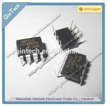 MCP602-I/P MCP602 DIP8, 2.7V to 6.0V Single Supply CMOS Op Amps