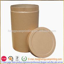 Custom kraft round box/paper tube /round gift box HY2962