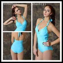 2015 Women Sexy hot Beautiful Colorful Bandage monokini