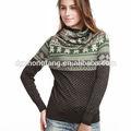 nuevo estilo de venta al por mayor de los diseños de suéteres de lana