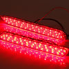 2014 new arrival!Toyota Camry 2pcs Red Lens LED Rear Bumper Reflector