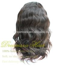 Virgin Eurasian Hair Full Lace Wig For White Women