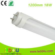 High voltage Canada market 18w 4ft DLC CSA 347 Volt LED Tube Light