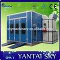 Sb-100 ce certificado de pintura da cabine de pulverização/spray paint máquinas/cabine do carro para venda