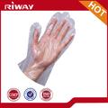 cheap disposable PE gloves for beauty salon