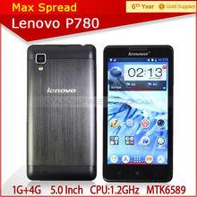 cheapest quad core phone 5.0'' lenovo p780 mtk6589 8mp smartphone