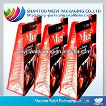 FDA Food grade customized design coffee packaging supplies in China