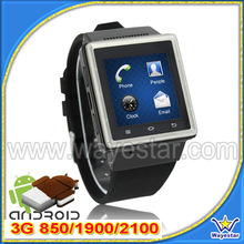 Latest MTK6577 3G Android 4.0.4 Hand Smartwatch Phone