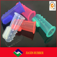 Newest design Silicone Baby Finger Toothbrush