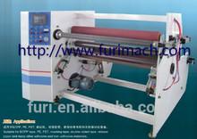 Furimach automatic BOPP adhesive tape rewinding machine/stretch film jumbo roll rewinder machinery/PE/PVC/masking tape