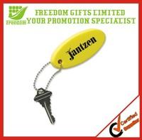 Promotional Custom Logo Printed Plastic Key Chain