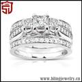la gracia de marca atlantis de plata anillo