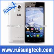 "Original THL T6S 5.0"" 5 Inch JDI MTK6582 Quad Core Android 4.4.2 3G Phone 8MP CAM 1GB RAM 8GB ROM WCDMA Ultrathin"