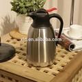 Edelstahl- Stahl metall rot kaffeekanne