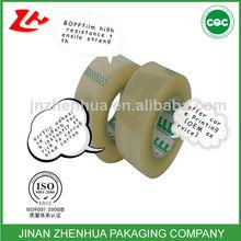 [hot sell] high gloss bopp tape of zhenhua with free sample