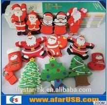 Hot Sale USB2.0 Christmas Day Present Christmas Tree Series 2 USB Flash Drive