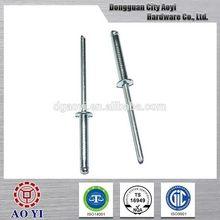 New style economic din7337 pop all steel blind rivet