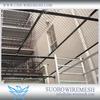 Indoor Chain Link Fence Black Vinyl Coated Chain Link Fence Chain Link Fence Decoration