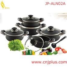 JP-AL03 10pcs Aluminum Baked Enamel Cookware
