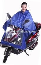 rainproof reflective adult riding raincoat poncho