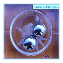 mirror aisi 304 G200 50mm large solid stainless steel balls in sex toys