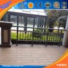 T3-T8 Temper 6000 Series Grade zhonglian aluminium profiles , polishing aluminum railings for balcony ,aluminum stair handrail