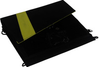 18V&5V 13W outdoor folding solar charger for Samsung tablet pc/mobile phone/notebook