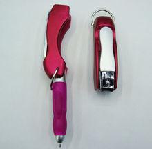 Promotional multipfunction ballpoint pen,metal ballpoint pen, short ballpoint pen